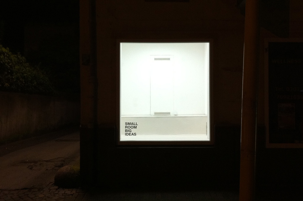 Februar 2012 </br>Building The White Cube